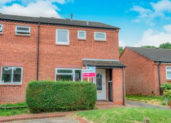 Thumbnail 3 bed end terrace house for sale in Upper Field Close, Church Hill North, Redditch