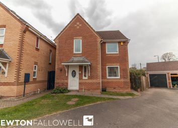 Thumbnail 3 bed detached house for sale in Oxton Close, Retford