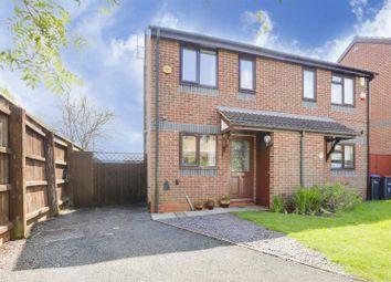 Thumbnail 2 bed semi-detached house for sale in Lakeland Avenue, Hucknall, Nottinghamshire