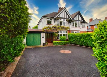 Thumbnail 3 bed semi-detached house for sale in Moss Road, Northwich