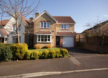 Thumbnail 4 bedroom detached house to rent in Fallow Field Close, Chippenham