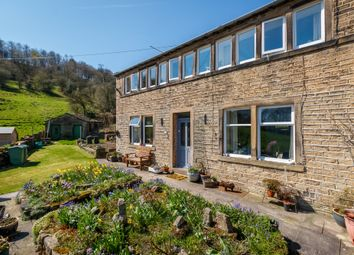 Thumbnail 4 bed cottage for sale in Share Hill, Wellhouse, Golcar, Huddersfield