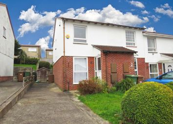 Thumbnail 2 bed end terrace house for sale in Neal Close, Plympton, Plymouth