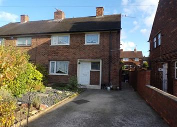 Thumbnail 3 bed semi-detached house for sale in Lathkill Grove, Tibshelf, Alfreton, Derbyshire