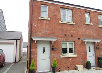 Thumbnail 2 bed end terrace house for sale in Lon Y Grug, Llandarcy, Neath, West Glamorgan