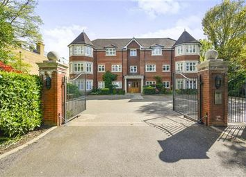 Thumbnail 2 bed flat for sale in Warbeck House, 46 Queens Road, Weybridge