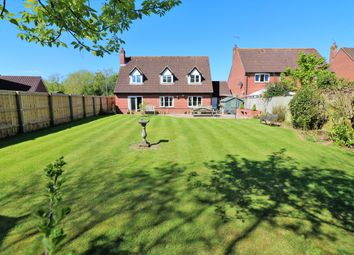 Thumbnail 4 bed detached house for sale in Greenfields Road, Dereham