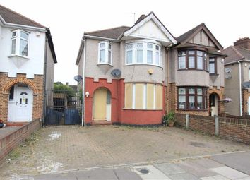 Thumbnail 3 bed end terrace house for sale in Somerville Road, Romford, Essex