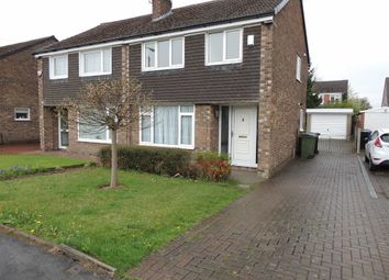 Thumbnail 3 bed semi-detached house to rent in Lyndhurst Avenue, Hazel Grove, Stockport