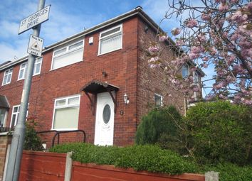 Thumbnail 3 bedroom semi-detached house to rent in St. Georges Drive, Moston, Manchester