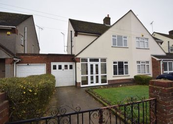 Thumbnail 3 bed semi-detached house to rent in Bushmead Road, Luton