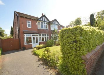 Thumbnail 3 bed semi-detached house for sale in Woodsmoor Lane, Davenport, Stockport