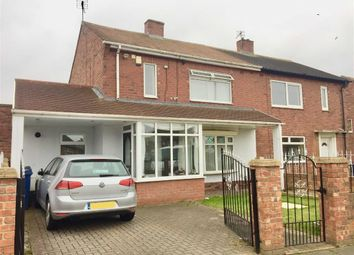 Thumbnail 2 bed semi-detached house for sale in Ewart Crescent, South Shields