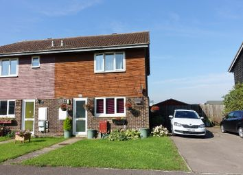 Thumbnail 2 bedroom semi-detached house to rent in Orchard Row, Soham, Ely