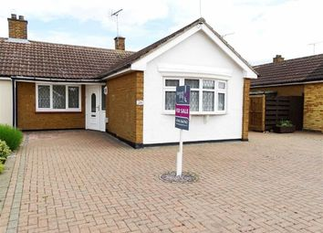 Thumbnail 2 bed semi-detached bungalow for sale in Weymouth Road, Chelmsford, Essex