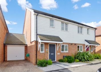 Thumbnail 3 bed semi-detached house for sale in Navigation Drive, Yapton, Arundel