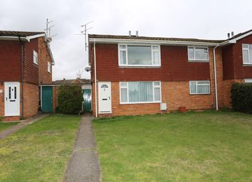 Thumbnail 2 bed flat for sale in Brecon Road, Woodley, Reading
