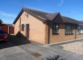 Thumbnail 2 bed semi-detached bungalow to rent in Trem Cinmel, Towyn