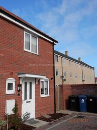 Thumbnail 2 bedroom end terrace house to rent in Crocus Close, Eynesbury, St. Neots