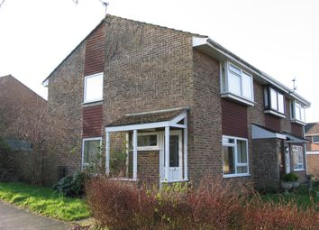 Thumbnail 2 bed semi-detached house to rent in Russell Row, Lewes