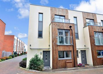 Thumbnail 3 bed town house for sale in Longley Road, Chichester, West Sussex