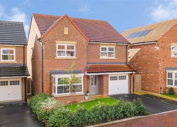 Thumbnail 4 bed detached house for sale in Moorlands Fold, Harrogate, North Yorkshire
