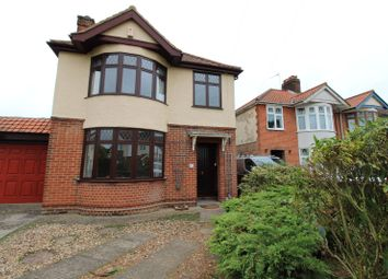 Thumbnail 3 bed detached house to rent in Goring Road, Ipswich