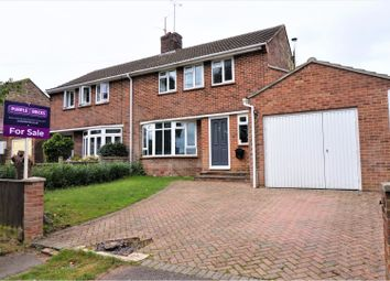 Thumbnail 3 bed semi-detached house for sale in Church Way, Hungerford