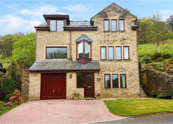 Thumbnail 4 bed detached house for sale in Stanleigh Croft, Hebden Bridge