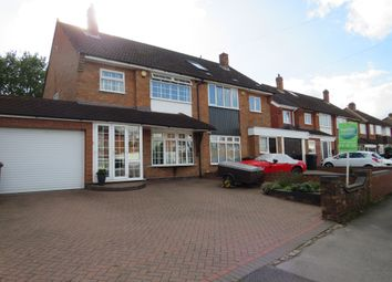Thumbnail 3 bed semi-detached house for sale in Leafield Road, Solihull