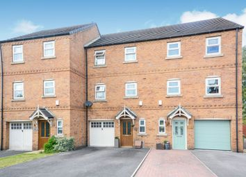Thumbnail 4 bed town house for sale in Crabtree Close, Danesmoor, Chesterfield