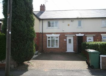 Thumbnail 2 bed terraced house to rent in Dickinson Drive, Walsall