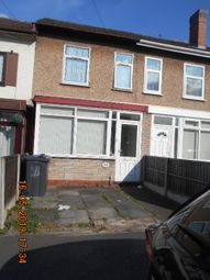 Thumbnail 3 bed terraced house for sale in St Benedicts Road, Small Heath