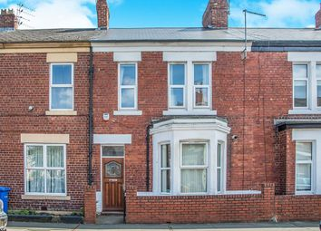Thumbnail 4 bedroom terraced house for sale in Cardigan Terrace, Heaton, Newcastle Upon Tyne