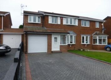 Thumbnail 5 bed semi-detached house for sale in Pebworth Grove, Dudley