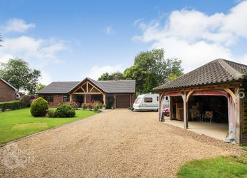Thumbnail 4 bed detached bungalow for sale in Old Hall Park, Seething, Norwich