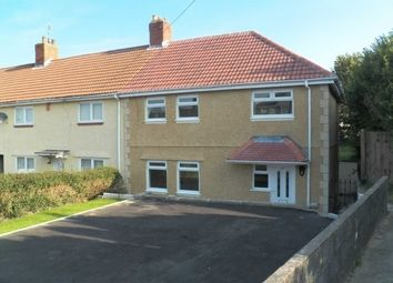 Thumbnail 3 bed semi-detached house to rent in Middle Road, Ravenhill, Swansea
