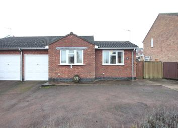 Thumbnail 2 bedroom semi-detached bungalow for sale in Heath Lane, Earl Shilton, Leicester