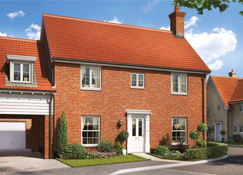 Thumbnail 4 bedroom link-detached house for sale in Birch Gate, Silfield Road, Wymondham, Norfolk