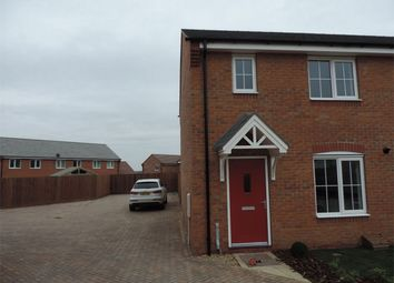 Thumbnail 3 bed end terrace house to rent in Market Rasen Drive, Bourne, Lincolnshire