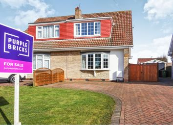 Thumbnail 3 bedroom semi-detached house for sale in Ravenhill Close, Cleethorpes