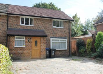 Thumbnail 3 bedroom semi-detached house to rent in Windsor Way, Woking