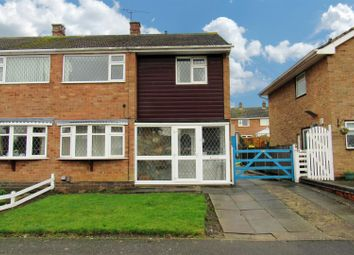 Thumbnail 3 bed semi-detached house for sale in Penzance Avenue, Wigston
