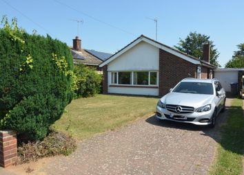 Thumbnail 3 bed detached bungalow for sale in Rosemary Avenue, Old Felixstowe, Felixstowe