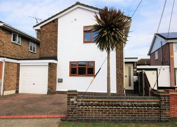 Thumbnail 3 bed link-detached house for sale in Mornington Road, Canvey Island, Essex