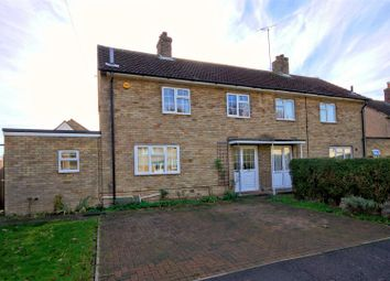 Thumbnail 3 bedroom semi-detached house for sale in Rectory Road, Duxford, Cambridge