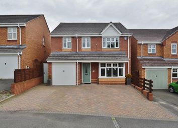Thumbnail 4 bed detached house for sale in Barn Way, Hednesford, Cannock
