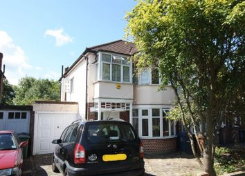 Thumbnail 3 bed semi-detached house to rent in South Vale, Sudbury Hill, Harrow