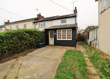 Thumbnail 2 bed end terrace house for sale in Chapel Street, Rowhedge, Colchester
