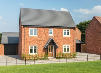 "Thumbnail 4 bed detached house for sale in ""Bentley"" at Burton Road, Streethay, Lichfield"